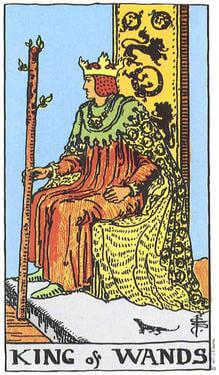 Tarot King of Wands