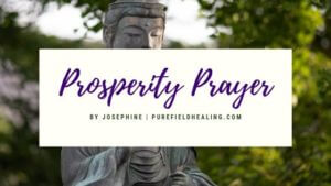 prosperity prayer abundance