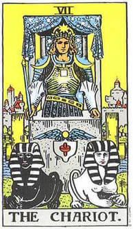 Tarot card meanings Chariot
