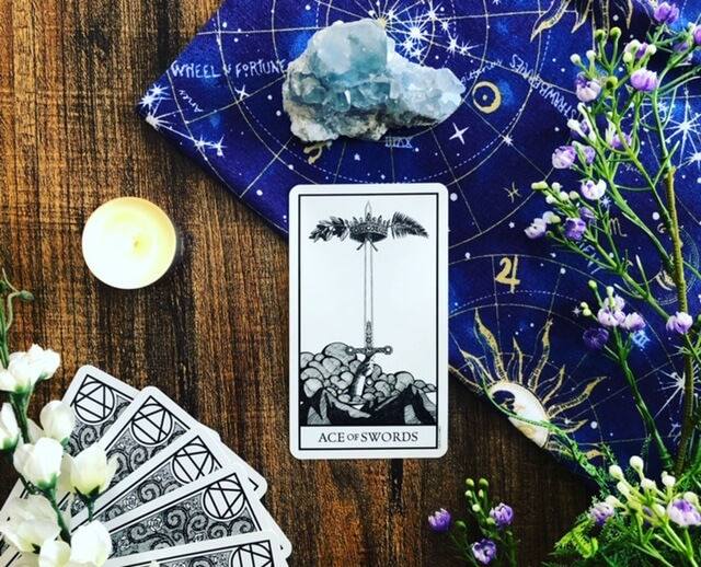tarot cards used for spiritual business coaching