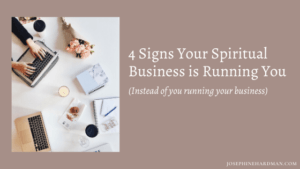 grow spiritual business