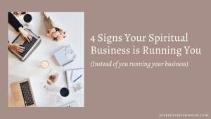grow spiritual business