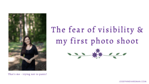 blog post banner image of spiritual healer coach photo shoot