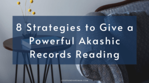 couch with book blog post powerful akashic record readings