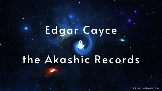 cosmos with stars and planets Edgar Cayce Akashic Records