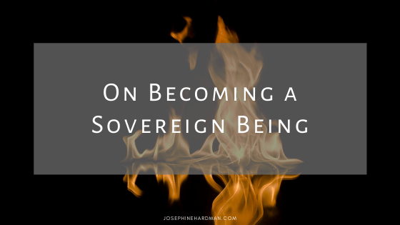 fire background for spiritual blog becoming a sovereign being
