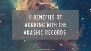cosmos yellow and blue benefits Akashic Records