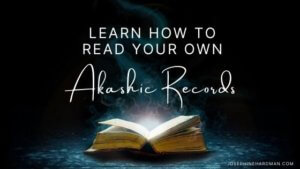 Akashic Records training course level 1 open book
