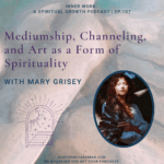 spiritual podcast healing mediumship abstract image of spiritual healer