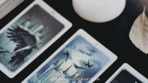 tarot cards white candle spiritual blog tarot spread