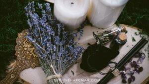 altar with candles spiritual healing